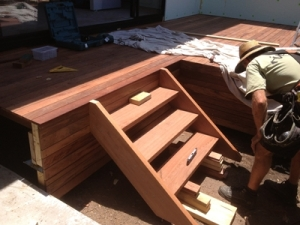 Timber decks and stairs