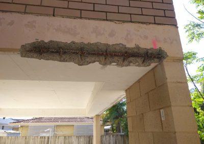 Mermaid Beach seamless concrete repair Before